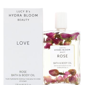 Hydra Bloom Rose Body and Bath Oil