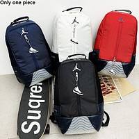 Jordan fashion men and women patchwork color backpacks are selling casual backpacks