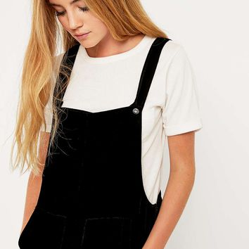 Little White Lies Hadley Velvet Dungarees - Urban Outfitters