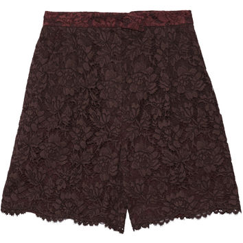 Corded lace shorts | Valentino | US | THE OUTNET