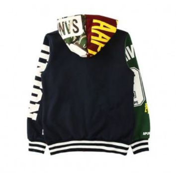 AAPE Hooded Cardigan Union Jacket (Multi-color)