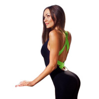 Sport Fitness Jumpsuit Sexy Full Bandage Bodysuit
