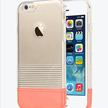 "iPhone 6s / 6 Clear Case, Candy Pantone Thin Protective Case for Apple iPhone 6 / iPhone 6s 4.7"" (Turquoise)"