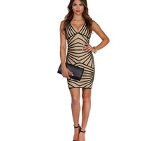 Ivory Sweet Revenge Bodycon Dress