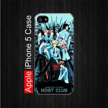 Ouran High School Host Club Rare iPhone 5 Case