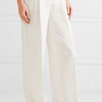Stevie stretch-crepe wide-leg pants | ELIZABETH AND JAMES | Sale up to 70% off | THE OUTNET
