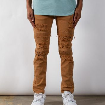 Tobacco Dime Denim | Taper Fit