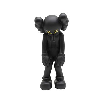 Medicom Toys KAWS Companion Small Lies Vinyl Black Figure 2017