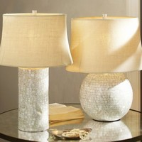 Mother-of-Pearl Table Lamp Bases