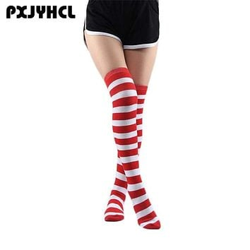 Halloween Lovely Student Anime Cosplay Strip Long Stocking For Girl Thigh High Over Kneel Sock Sexy Women Warm Onesize Stockings Macchar Cosplay Catalogue