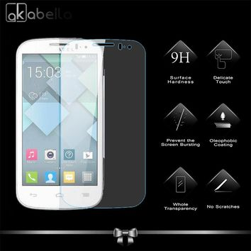 Tempered Glass Screen Protector For Alcatel OneTouch Pop C5 5036 OT5036 5036D one touch pop c5 Premium Protective Toughened Film