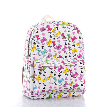 Butterfly Cartoons Backpack = 4887719812