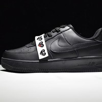 Originals Nike Air Force One 1 Low All Black AF1 '07 315122-001