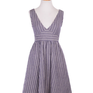 Picnic Dress in Stripes