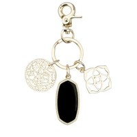 Shirley Charm Key Chain In Black - Kendra Scott Jewelry