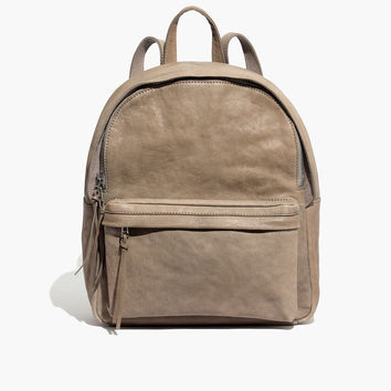 The Lorimer Backpack in Washed Leather