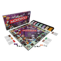 The Nightmare Before Christmas Monopoly Board Game