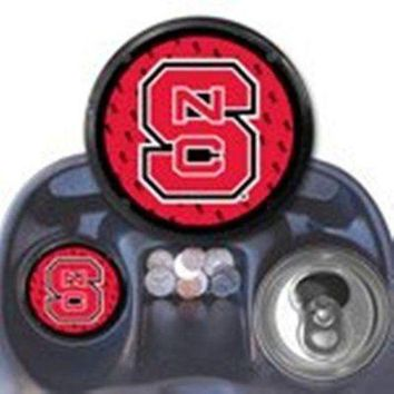 ONETOW North Carolina State Wolfpack Car Coaster Air Freshener Auto Truck University