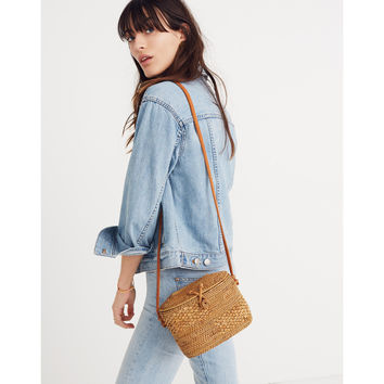 Folk Fortune Bali Rattan Top-Lid Bag : shopmadewell crossbody bags | Madewell