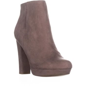 Report Lyle Closed Toe Ankle Fashion Boots, Taupe, 9 US