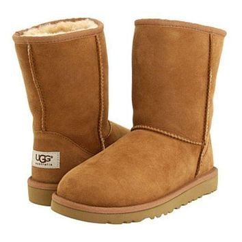 UGG tide brand men and women fashion warm snow boots F