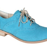 REFRESH ALEXIS-01 Women's Oxford men's style dress shoe