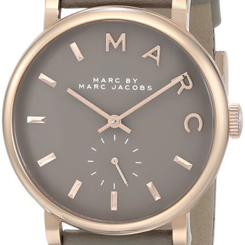 Marc by Marc Jacobs Women's MBM1266 Baker Rose-Tone Stainless Steel Watch wit...
