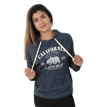 California Republic Surf City Ultra Lightweight Hoodie
