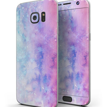 Washed Dyed 2142 Absorbed Watercolor Texture - Full Body Skin-Kit for the Samsung Galaxy S7 or S7 Edge