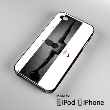 Michael Jordan Wings A1313 iPhone 4 4S 5 5S 5C 6, iPod Touch 4 5 Cases