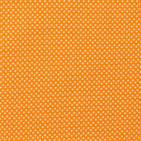 Orange & White Polka Dot Apparel Fabric | Hobby Lobby