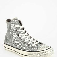 Converse Chuck Taylor All Star Scaled Leather High-Top Women's Sneaker- Grey 6