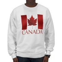 Canada Sweatshirt Canada Flag  Souvenir Sweatshirt from Zazzle.com