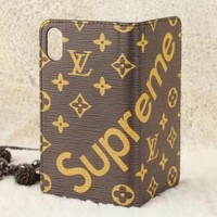 Louis Vuitton LV Fashion iPhone Phone Cover Case For iphone  s plus s-plus  plus  plus X