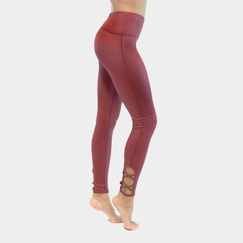 Lace Up Barre Legging