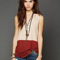 Free People Low Armhole Tank
