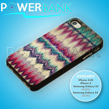 Aztec Tribal chevron pattern - iPhone 4/4s/5 Case - Samsung Galaxy S3/S4 Case - Black or White