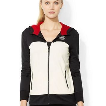 Lauren Ralph Lauren Full-Zip Color-Blocked Hoodie