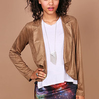 Blazin Suede Blazer | Trendy Blazers at Pink Ice