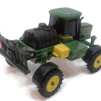 John Deere Green Diecast Collectible Farm Tractor Miniature Toy Truck Machinery Vintage Children's Toys Retro Gift Kids Die Cast Figurine