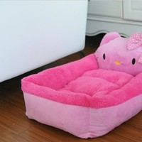 NEW Arrival Hello Kitty pet bed for dogs/cats,fashion large pet bed house ,pet kennel house dog,warm nest,dog pens-in Houses, Kennels & Pens from Home & Garden on Aliexpress.com | Alibaba Group
