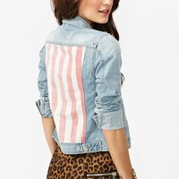 Stars & Stripes Denim Jacket