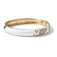 Cluster Splash Enamel Bangle by Sequin