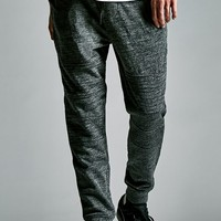 On The Byas The Drop Fit Moto Fleece Jogger Pants - Mens Pants - Gray