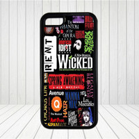 Wicked Broadway Musical phone case,iPhone 6 case,iPhone 6 Plus Case,iPhone 5/5S case,iPhone 5C Case,iPhone 4/4S case