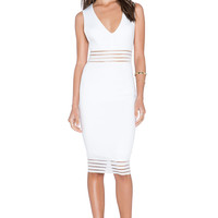bless'ed are the meek Castaway Dress in Ivory