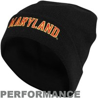 Under Armour Maryland Terrapins Sideline Performance Beanie - Black