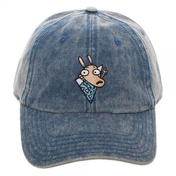 Nickelodeon Rocko's Modern Life Blue Jean Adjustable Hat