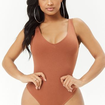 Sleeveless V-Neck Bodysuit