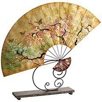 Pier 1 Imports - Product Details - Large Capiz Fan with Stand